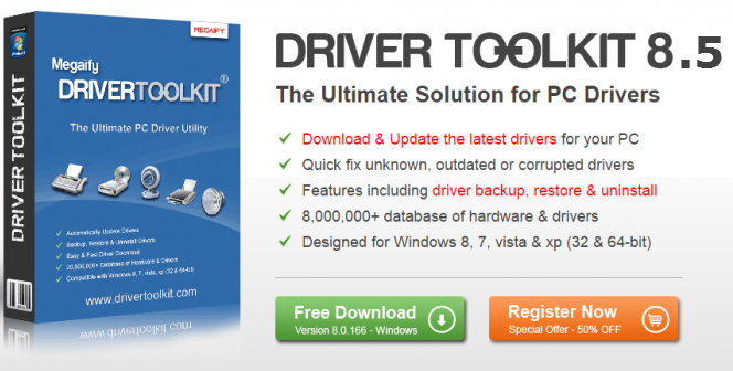 Driver Toolkit 8.5 Crack + Activation Key Full FREE