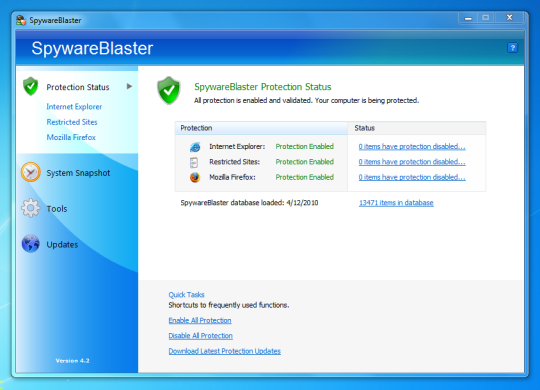 SpywareBlaster 5.5 Crack Plus Serial Key Latest FREE Download