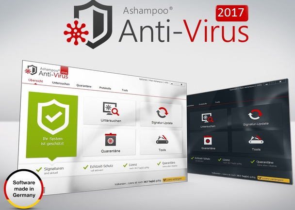 Ashampoo Antivirus 2017 Crack + Activation Key Free Download
