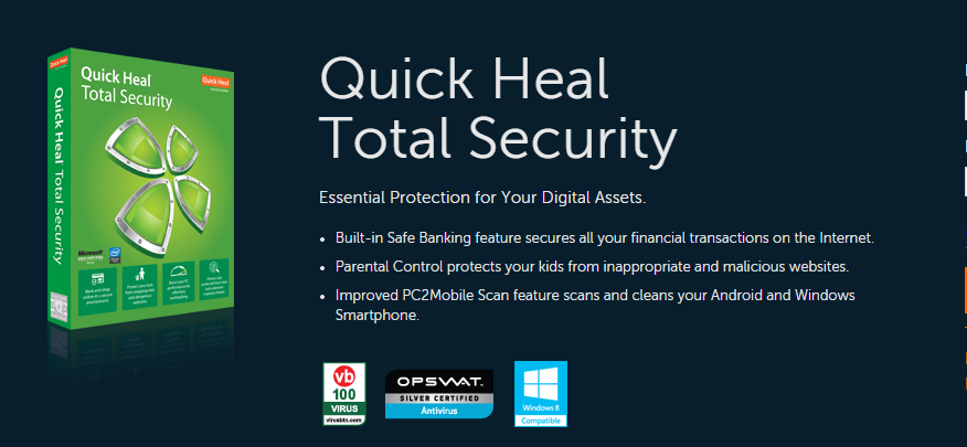 Quick Heal Total Security 2017 Activation Keys