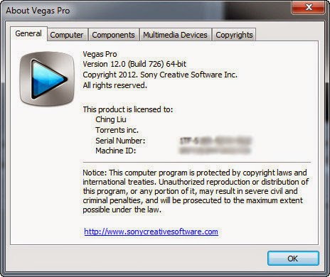 Sony Vegas Pro Activation Keys Full FREE