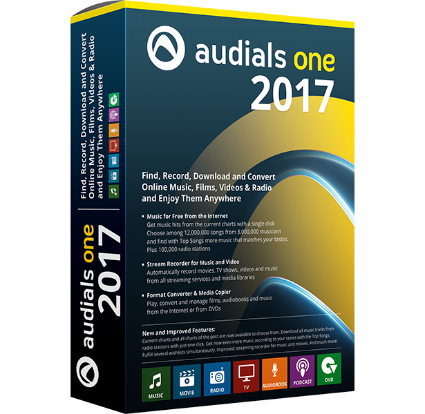Audials One 2018 Crack With Serial Key Full