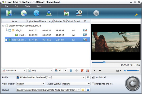 leawo prof. media 7.9.0.0 keygen