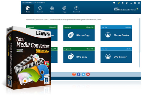 Leawo Total Media Converter Ultimate Activation Code Free