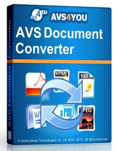 AVS Document Converter 3.1.2.247 Activation Key plus Crack Full Free Download