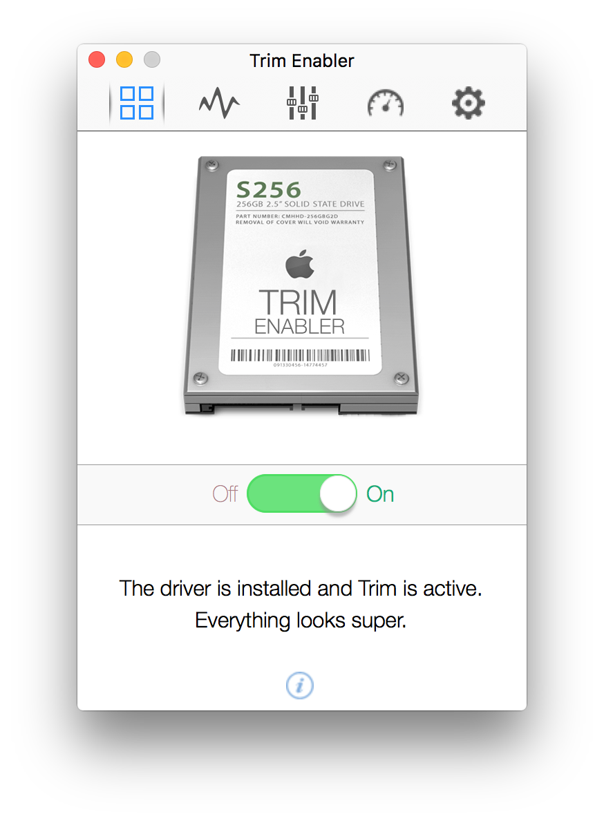 Trim Enabler Pro 3.4.3 Activation Key+ Crack Mac OS X