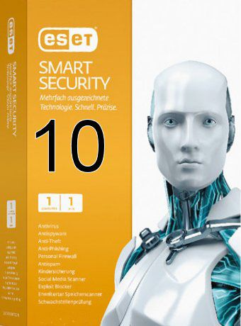 ESET Smart Security 10 Activation Key + Username & Password Free