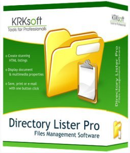 Directory Lister Pro 2.17.0.290 Activation Key Full Enterprise Edition Free Download