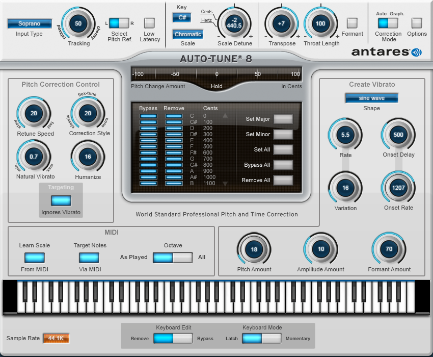Antares Autotune 8 Crack Plus Keygen Free Download