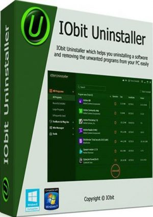 IObit Uninstaller PRO 7.4.0 Serial Key + Crack Free Download