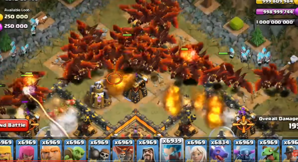 Clash of Clans Cracked 9.105.10 APK for Android Free Download