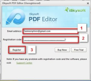 iSkysoft PDF Editor Pro 6 Crack & Registration Code Free Download